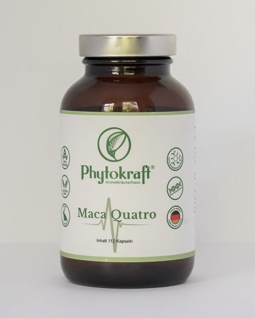 Maca Quattro Nahrungsergänzung Phytokraft